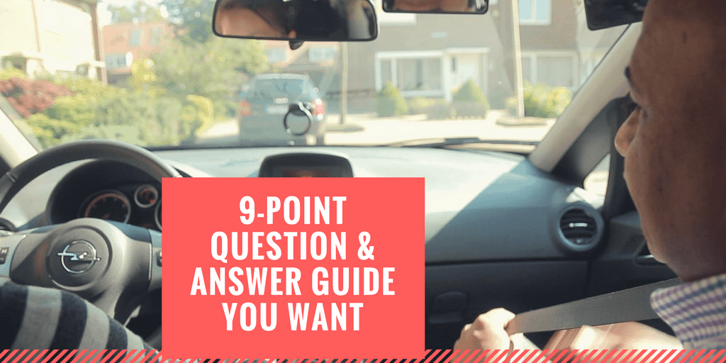 point question answer guide you want